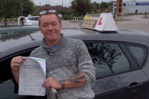 Andrew Had driving lessons in Dukinfield, Tameside