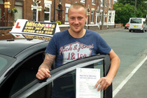 Carl Davies had driving lessons in Dukinfield.