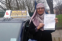 Kausar driving lessons in Ashton-under-Lyne