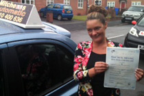 Kelly Butterworth automatic driving lessons Hattersley.