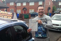 Lee had driving lessons in Stalybridge.