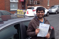 Muhammad had driving lessons in Hyde