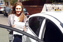 Rebecca had driving lessons in Heaton Mersey.jpg