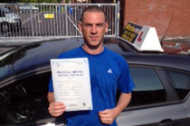 Steven had driving lessons in Audenshaw.