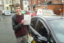 Ryan driving lessons Dukinfield